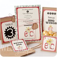 Wedding Invitations and Announcements!  Carol Woldhuis Designs  847.951.7920