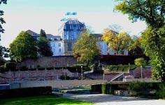 Herbst am Schloss. ... Zur Zeit ja eigentlich bei jedem Schloss im Saarland. Nicht nur bei dem in Saarbrücken. :-)