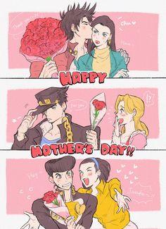 gotta show my mom jojo so I can use this xD Jojo's Adventure, Jojo Bizzare Adventure, Jojo's Bizarre Adventure Anime, Jojo Bizarre, Bizarre Art, Jojo Anime, Familia Anime, Jojo Parts, Sailor Moon Character