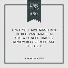 #GMAT #GRE #LSAT #STUDYTIPS || ManhattanPrep.com