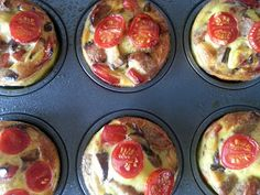 Slimming World Delights: Sausage, Mushroom and Red Pepper Mini Quiches Slimming World Lunch Ideas, Slimming World Diet, Slimming Eats, Cooking Recipes, Healthy Recipes, Meal Recipes, Healthy Options, Yummy Recipes, Recipies
