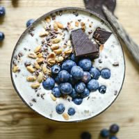 The smoothie bowl for a gourmet and healthy breakfast – The most beautiful recipes Healthy Fruits, Healthy Foods To Eat, Healthy Smoothies, Smoothie Recipes, Healthy Bowl, Healthy Breakfasts, Smoothie Bowl, Vanilla Smoothie, Breakfast Bowls