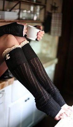 Comfy leg warmer // love!