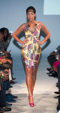 African Prints in Fashion: Bringing out the Colorful Goddess in every Woman: Interview with the Designer of the Label Eki Orleans