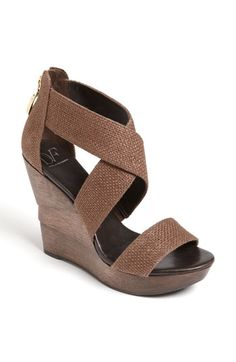 DVF summer wedge. Look familiar? They look similar to the JS wedges  @Ali Wright