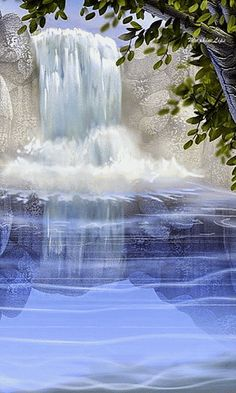 Gif ✿*´♥¨✿* ♥¸* Cascata ✿* ♥ see also many animations gif  click: pinterest;com/dkelley9699