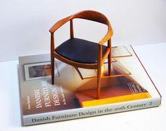 Miniature Wegner 503 chair