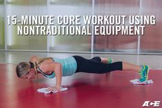 This fast and efficient core workout takes only 15 minutes to complete and, when performed twice a week, will help create a strong core and better posture.