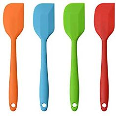 Silicone Spatulas, 11 inch Large Heat Resistant Non-Stick Flexible Rubber Scrapers Bakeware Tool Essential Cooking Gadget Piece) Raw Food Recipes, Mexican Food Recipes, Cooking Recipes, Dinner Recipes, Mexican Desserts, Mexican Meals, Freezer Recipes, Freezer Cooking, Drink Recipes