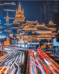 Ancient and modern city ,Shanghai,China.Picture from Visit Shanghai, Asian Architecture, City Wallpaper, City Aesthetic, Modern City, China Travel, City Photography, Travel Abroad, Best Cities