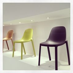 #PhillippeStarck Broom chairs at #Emeco.