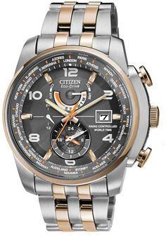 AT9016-56H, AT901656H, Citizen world time a t watch, mens