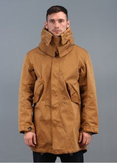 Ten C Fishtail Parka Jacket Brown | Coat | Pinterest | Fishtail ...
