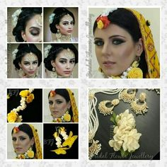 Flower jewellery shoots. With Jan at Yasir and Nadhia makeup artist.  Flowers by bridal flower jewellery www.bridalflowerjewellery.weebly.com