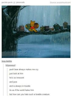 POOH WILL ALWAYS BE MY FAVORITE