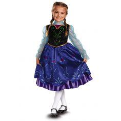 Anna Deluxe Frozen Costume  #Anna #Costume #Deluxe #Frozen #KidsHalloweenCostumes Halloween Spirit