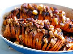 They Call It Falling For A Reason: Hasselbeck Sweet Potatoes