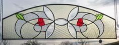 Lead Glass Stained Glass Window Image Victorian Mosaic Arch Tiffany Technique | eBay