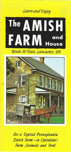 The Amish Farm and House by People, Places  Things, via Flickr