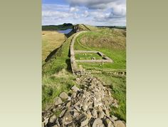 Hadrian's wall protected the people from other tribes. Hadrian's Wall is called the first Toll road.