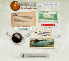 Vintage and Retro Website Design Trend