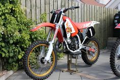 My 1991 CR125 and CR250 - Old School Moto - Motocross Forums / Message Boards - Vital MX
