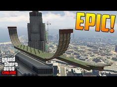 COMO MOLA!! LO HAGO PERFECTO!! - Gameplay GTA 5 Online Funny Moments (Carrera GTA V PS4) - YouTube