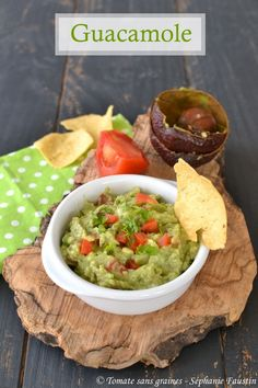 Le véritable guacamole : http://tomatesansgraines.blogspot.com/2018/06/le-veritable-guacamole.html