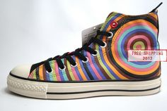 Converse All Star Hi Shoes Rainbow For Women