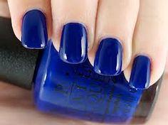 """OPI Euro Centrale Spring 2013 Collection! Amazing vibrant blue! """"Eurso Euro"""""""