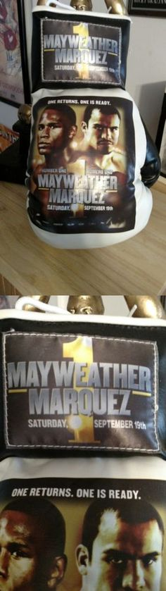 Boxing 1227: 2009 Floyd Mayweather Jr And Juan Manuel Marquez Limited Edition Boxing Glove -> BUY IT NOW ONLY: $99.99 on eBay!