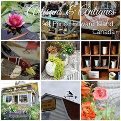 The artisans & antiques of Prince Edward Island, Canada   by flourishandknot.com