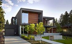 casa moderna y sostenible