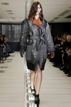 Balenciaga AW 2012 Paris Fashion week