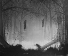 haunted forest of Japan