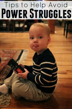 Toddler Approved!: Tips to Help Avoid Power Struggles {And Ways to Give Kids More Positive Power}