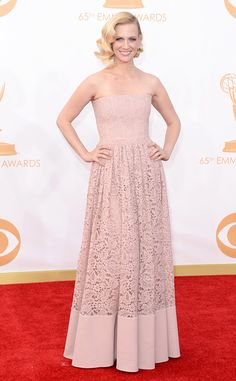 January Jones from 2013 Emmys: Red Carpet Arrivals | E! Online