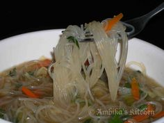 My version of Vegetarian Pho - A very flavorful and aromatic Vietnamese soup