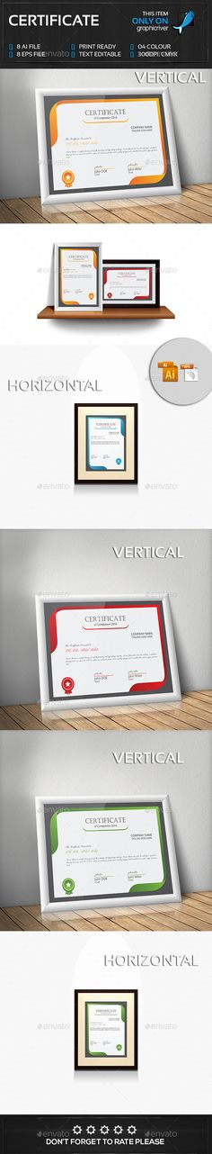 Certificate Design Certificate design, Infographic templates and - certificate designs templates