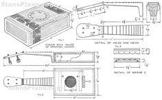Cigar Box Ukulele plans