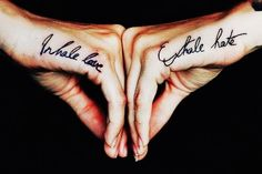 Trendy: Cute Matching Couple Tattoos Quotes - Simple Cute Matching Couple... - Tattoo