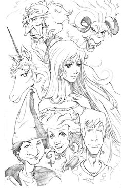 The Last Unicorn artwork - Favorite from my childhood