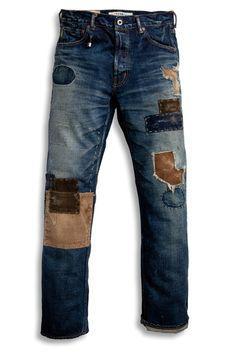 oOoOoOOoo Denim Fashion, Boho Fashion, Fashion Tips, Denim Ideas, Patchwork Jeans, Korean Fashion, Indian Fashion, Denim Jacket Men, Patched Jeans
