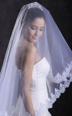 Beautiful Cathedral Wedding Veil