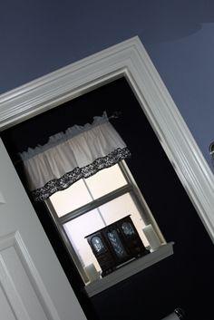 LaRae's Crafty Corner: How to make a simple window valance