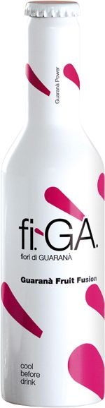 fiGA Guarana energy drink fruit fusion