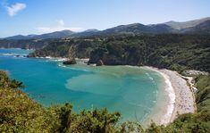 Playa de Cadavedo / La Ribeirona #Valdés #playa #beach #Asturias #ParaísoNatural…