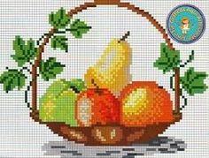 Imagini pentru bordado ponto cruz com uvas