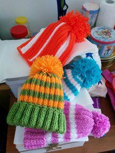 Căciulite colorate Crochet Hats, Children, Fashion, Knitting Hats, Young Children, Moda, Boys, Fashion Styles, Kids