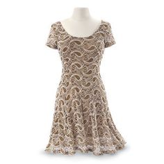 Mimi Paisley Lace Dress - New Age, Spiritual Gifts, Yoga, Wicca, Gothic, Reiki, Celtic, Crystal, Tarot at Pyramid Collection